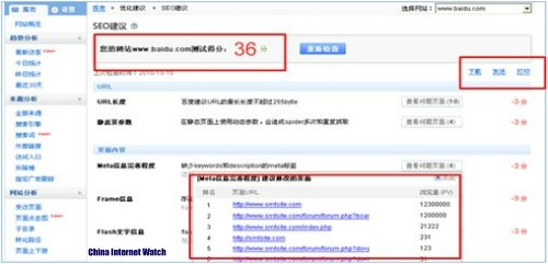 Baidu Site Audit Tool