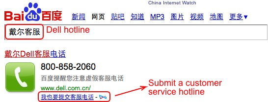 How to Submit Customer Service Phone to Baidu Index