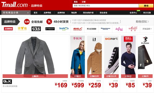 A Record Single-day Turnover of 3.36 Billion Yuan Taobao Mall