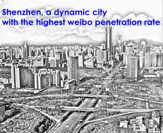 Shenzhen Has the Highest Weibo Penetration Rate in China