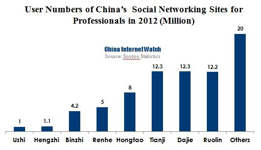China's Professional Social Networking Users to Reach 100 Million